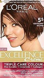 Loreal Hair Care Excellence Creme Hair Colour (No 5.5 - Mahogany Brown)