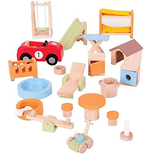 Bigjigs Toys Heritage Playset Do...