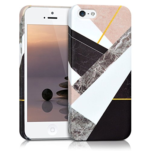 kwmobile-etui-rigide-design-mix-marbre-pour-apple-iphone-se-5-5s-en-noir-blanc-beige