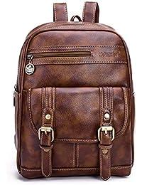 c35261c408 Zaino donna Borsa a tracolla delle donne delle ragazze teenager del cuoio dell'unità  di elaborazione delle borse a…
