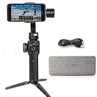 Zhiyun Smooth 4 3-Axis Stabilisateur De Cardan De Poche pour iPhone X 8 7 Plus 6 Plus Samsung Galaxy S8 + S8 S7 Smartphones Vertigo Shoot Téléphonez Mode Focus Tirer & Zoom Capability de ZHIYUN - Photo & Caméscope