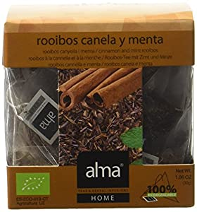 ALMA Cannelle et Mint Rooibos Infusion Bio 15 Pyramides 30 g