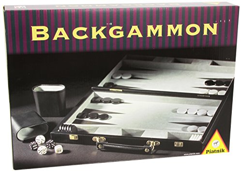 Piatnik 634581 Backgammonkoffer klein