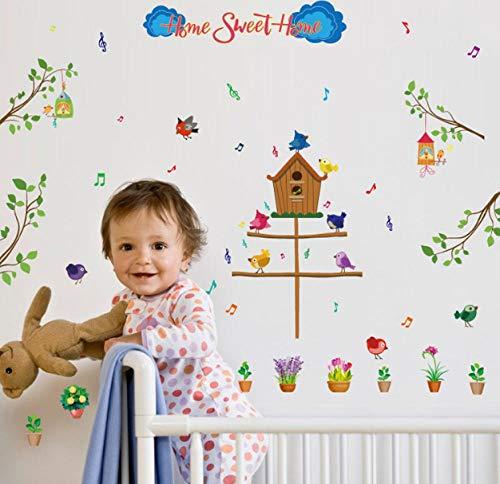 e wall stickers kindergarten children's room classroom background wallpaper ()