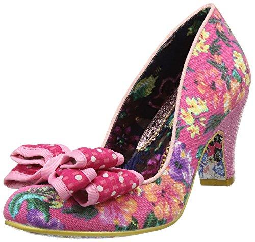 Irregular Choice Damen Ban Joe Pumps, (Pink Floral W), 38 EU