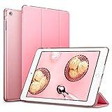 iPad Mini Hülle, ESR Auto Aufwachen / Schlaf Funktion PU Ledertasche Smart Case Cover mit Durchschaubar Rückseite Abdeckung Schutzhülle für iPad mini 3/2/1 (Süß Rosa)