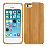 kwmobile Coque Apple iPhone Se / 5 / 5S - Étui de Protection Rigide en Bois de...