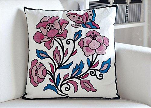 Classico decorativo divano ricamato cuscino / cuscino / più colori , (Miller Cuscino Decorativo)