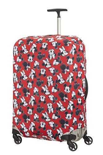 Samsonite Global Travel Accessories Disney Lycra Kofferhülle, L, rot (mickey/minnie red)