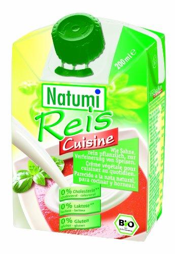 Natumi Riz de Cuisine 8% Matières Grasses Bio 200 ml