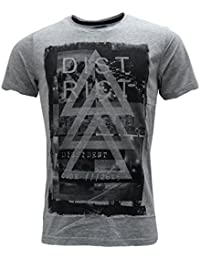 Dissident Mens T Shirt New Grey L