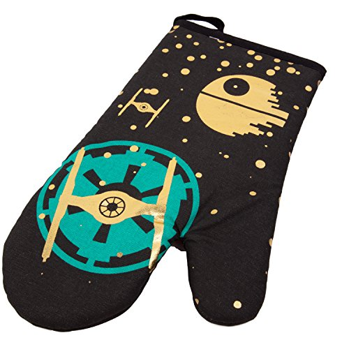 e Fighter Design Heat Resistant Cotton Oven Mitt ()