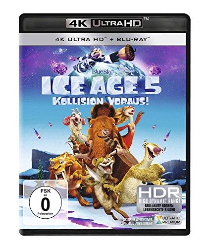 Ice Age - Kollision voraus! - Ultra HD Blu-ray [4k + Blu-ray Disc]