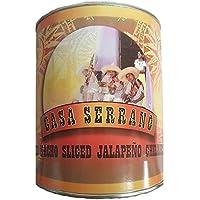 Rodajas de nacho jalapeño en escabeche rojo 2.9kg - SPICESontheWEB