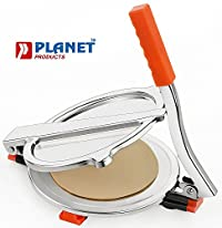 Planet High Grade Stainless Steel Puri Press/Papad Maker (Small)
