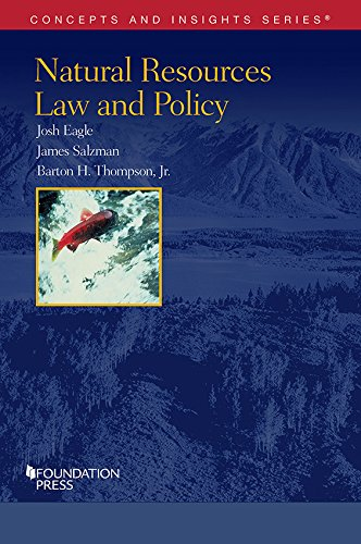 Natural Resources Law and Policy (Concepts and Insights)