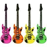 Dcolor 1 Set 4 Aufblasbare Gitarre