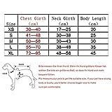 REXSONN® Hund Warnweste Schwimmweste Schwimmhilfe für Hunde Hunde-Schwimmweste Rettungsweste Float Coat dog life jacket mit praktischem Bergegriff - 2