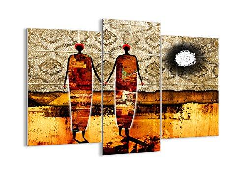 ARTTOR Bild auf Glas - Glasbilder - DREI Teile - Breite: 130cm, Höhe: 100cm - Bildnummer 0659 - dreiteilig - mehrteilig - zum Aufhängen bereit - Bilder - Kunstdruck - ()