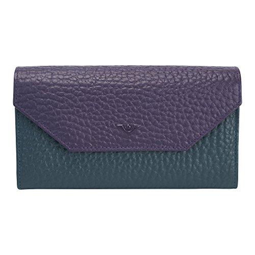 voi leather design Voi Bestseller Damenbörse 70576 Damenbörse Leder: Farbe: Tri-Color