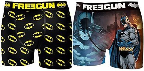 Boxer Batman - Boxer Freegun homme Batman (M, Pack de