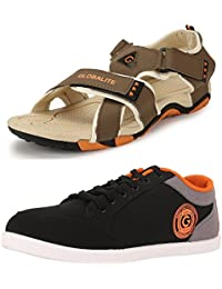 Globalite Men's Combo of Multicolor Sandal & Sneaker GPD0131_338SP