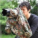 Matin Digital SLR Camera Rain Cover Camouflage Woodland