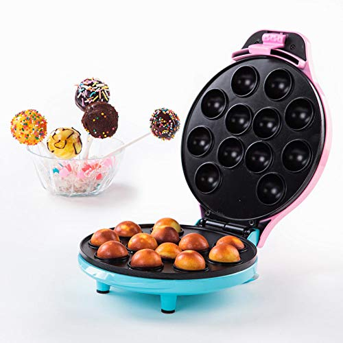 AFFC Lutscher Kuchen Maschine Pop Cake Maker mit 12 Cake Pop Kapazität Mini Babycakes Maker Octopus Egal Salatball Maker