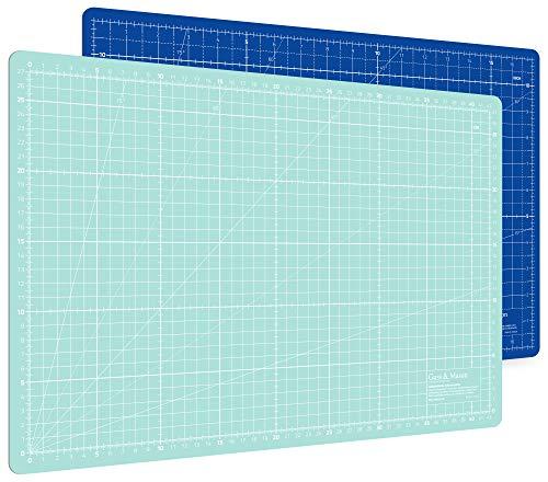 Alfombrilla de corte autorregenerable A3 en azul