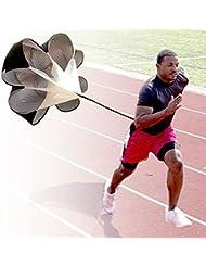 Bioings (TM) Entrenamiento de velocidad paraguas resistencia paracaídas Running Chute Jugar Toy Juego de arrastre de fitness Potencia explosiva de exterior qc004-sz