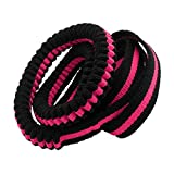 maDDma ® 1 Gurtband 16mm mit elastischem Rückdämpfer 135-200cm f. Hundeleinen, Farbwahl, Farbe:rosa