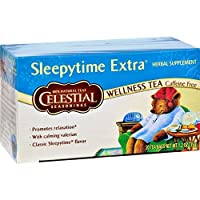 Celestial Seasonings Tea Sleepytime Extra, 20-count (Pack of6)