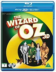 The Wizard Of Oz 75th Anniversary 3D +2D Blu Ray [Import]