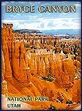 ABLERTRADE Tablrade Blechschild, 20,3 x 30,5 cm, Bryce Canyon National Park Utah USA