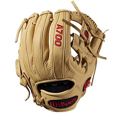 WILSON Sporting Goods 2019A700Baseball Handschuh-Rechte Hand Überwurf blond, 29,2cm