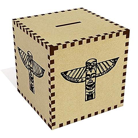 Large 'Totem Pole' Money Box / Piggy Bank (MB00020111)