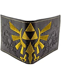 Cartera de Nintendo Zelda Embossed Triforce Negro