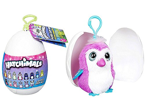 Hatchimals Egg Soft Plush Clip-on - Mysterious Character