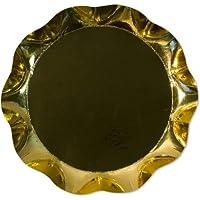 Vassoio Oro Lucido diam.30cm cartoncino