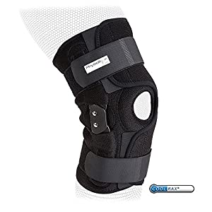 PhysioRoom Hinged Knee Brace - Knee Ligament ACL Support Elite Pro