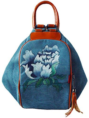 MatchLife, Borsa tote donna Style1-Khaki Style1-Blue