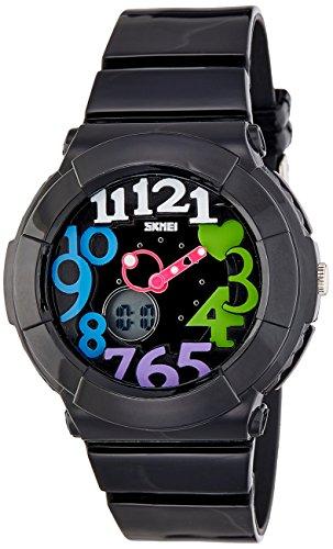 Skmei 1020BB  Analog-Digital Watch For Unisex