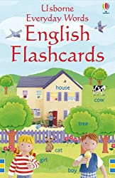 Everyday Words in English (Everyday Words Flashcards) (Usborne Everyday Words)