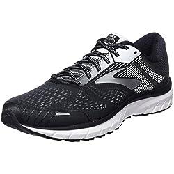 Brooks Adrenaline GTS 18, Zapatillas de Running para Hombre, Negro (Black/Silver/White 1d091), 41 EU