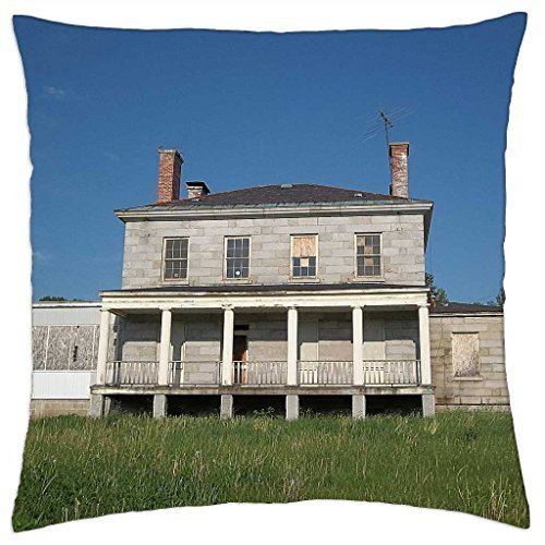 Kennebec Arsenal Augusta, Maine 1 - Throw Pillow Cover Case (16
