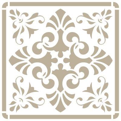 stencil-mini-deco-background-076-tile-iberia-10-stencil-size-12-x-12-cm-47-x-47-in-design-size-95-x-