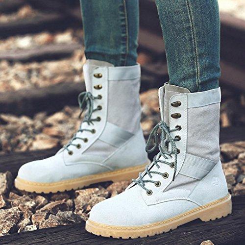 Sneakers Casual Shoes Chaussures De Travail Oxford Baskets Automne Et Hiver Par Hylm Gris