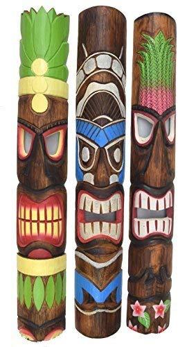 ske im Tiki Hawaii Style in 100cm Länge ()