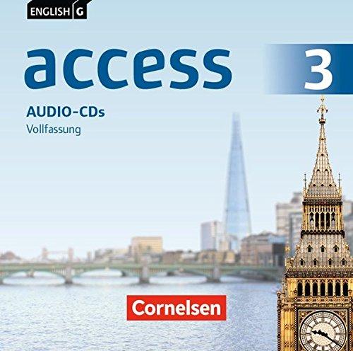 English G Access - Zu allen Ausgaben: Band 3: 7. Schuljahr - Audio-CDs: Vollfassung