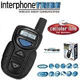 Cellular line - Interphone Tribe - kit mains-libres moto pour communications de groupe